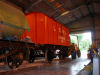 We have National Railway Museum wagons on display.